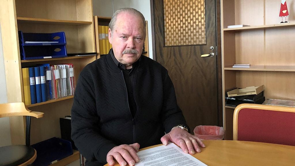 Tommy Holm, ordförande i Eskilstunas hyresgästförening.