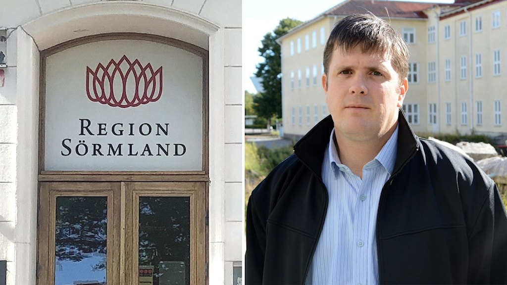 Magnus Leivik, gruppledare för Moderaterna i Region Sörmland.