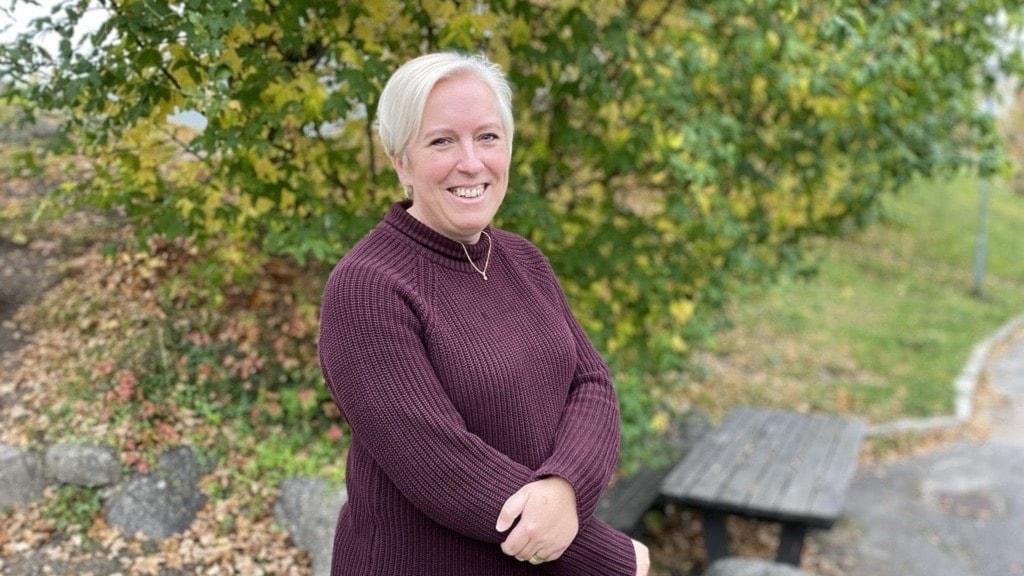 Jeanette Holmberg, grundare kvinno- och tjejjouren Smilla Strängnäs.