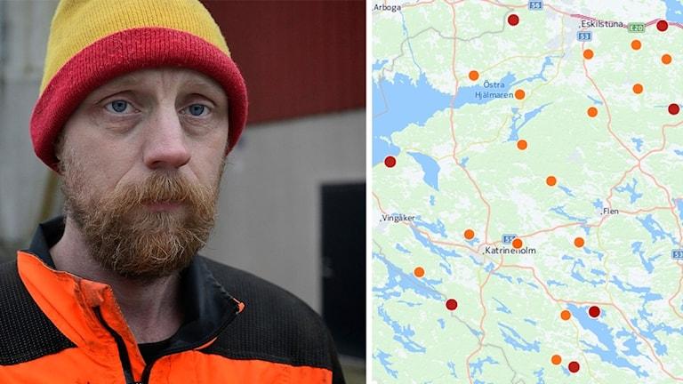 Anders Karlsson, mjölkbonde i Prostökna.
