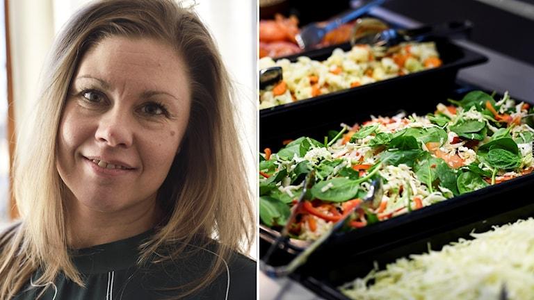 Camilla Larsson, måltidskonsulent i Nyköping.