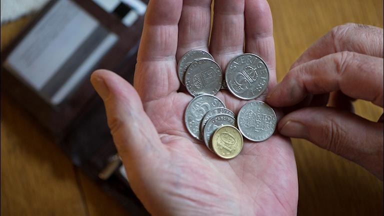 Låg pension är verklighet för många i dag.