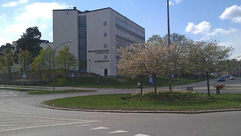 Stålforsskolan i Eskilstuna. Foto: Fredrik Blomberg/Sveriges Radio