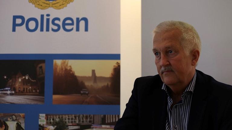 Kriminalkommisarie Kenneth Ågren.