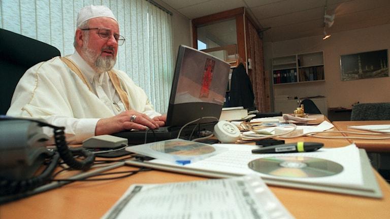Imamen Abd al Haqq Kielan. Fredrik Sandberg/TT.