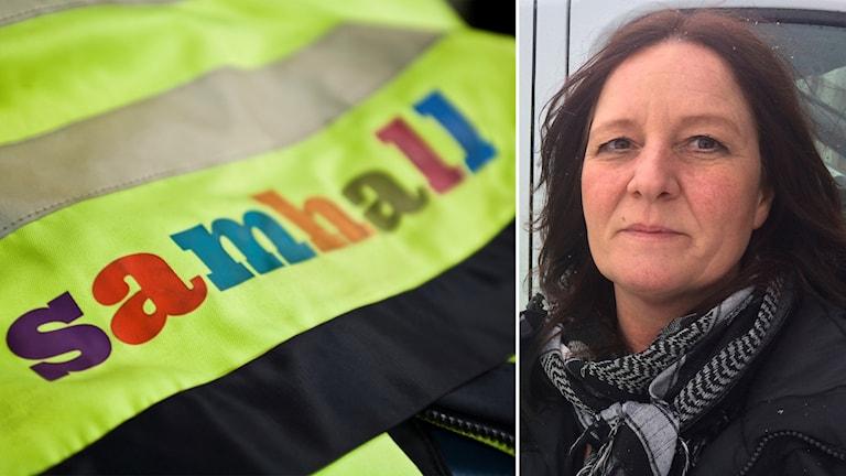Maj-Len Holmquist, fackförbundet Fastighets klubbordförande på Samhall i Eskilstuna.