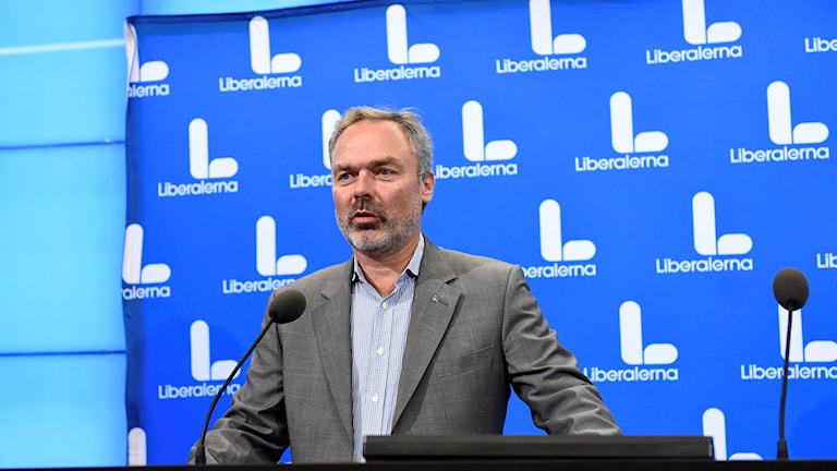 Jan Björklund is the leader of the Liberal Party. Archive photo.
