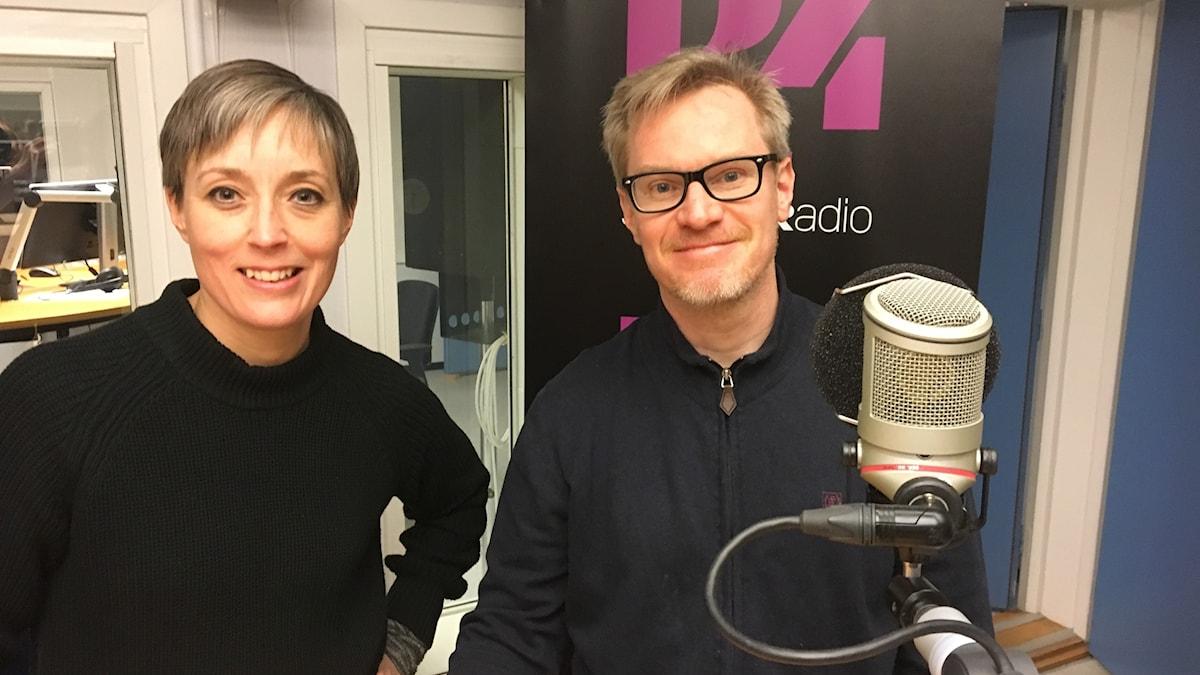 Anna Frölander och Jörgen Leidebrant.