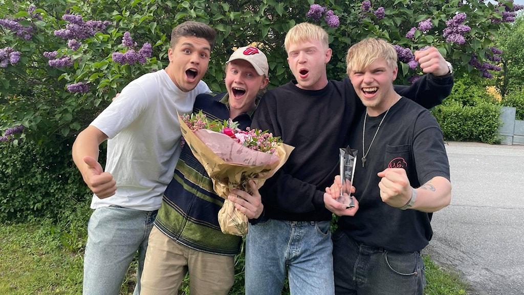 Gruppen Periferi vinnare av P4 Nästa Sörmland 2021.