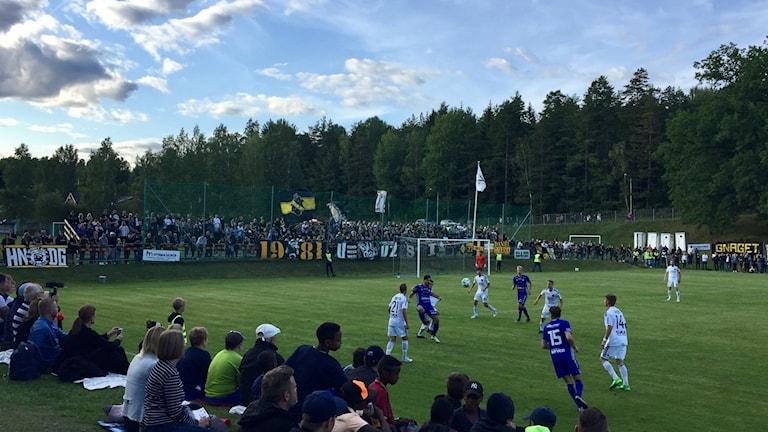 Värmbol föll mot AIK inför rekordpublik.