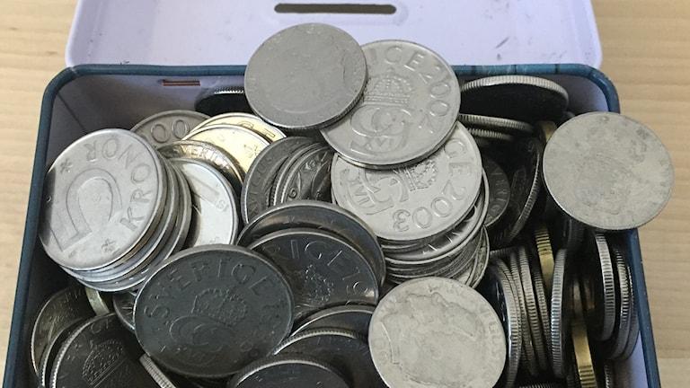 Äldre mynt blir värdelösa 31 augusti