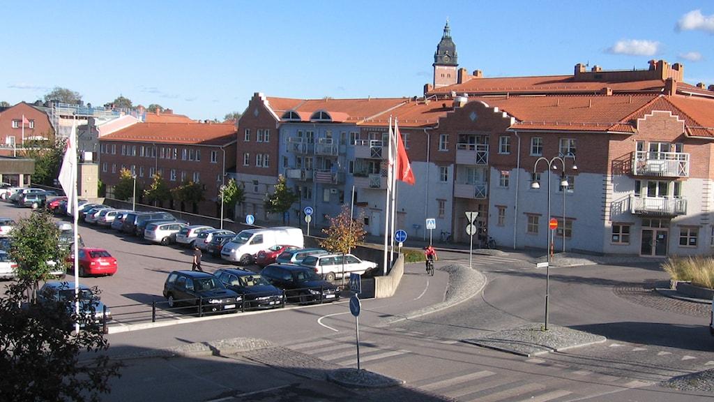 Stadsbild från Strängnäs Foto: SR Sörmland