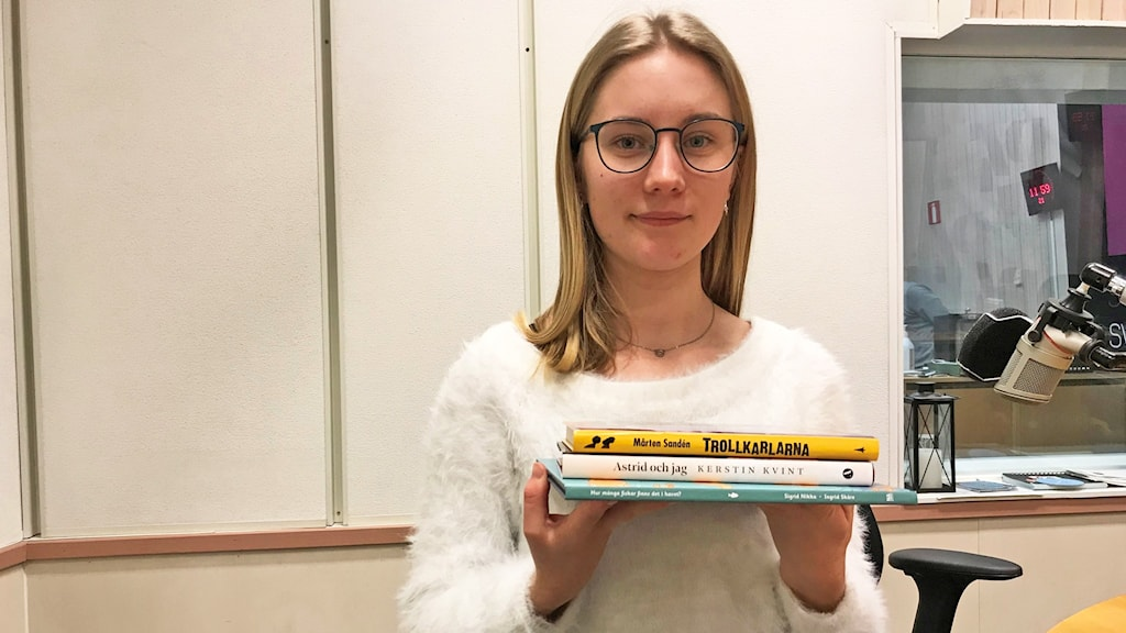 Bokbloggaren Agnes Lindholm tipsar om böcker.