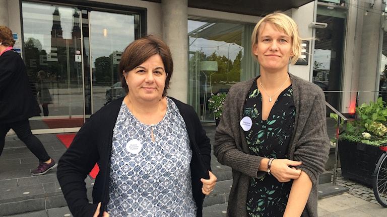 Gianna Michelotti och Magdalena Gustavsson, projekt Miriam