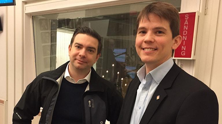 Jimmy Jansson (S), Magnus Arreflod (MP)