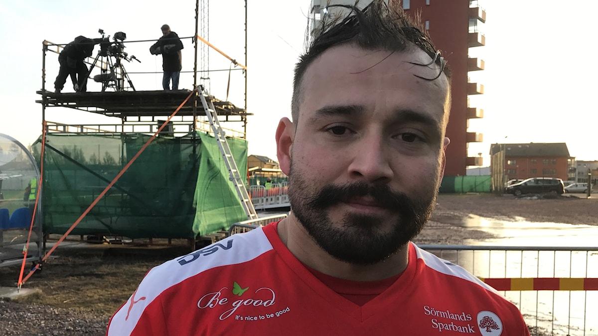 Nyköpings BIS lagkapten Dago Funes