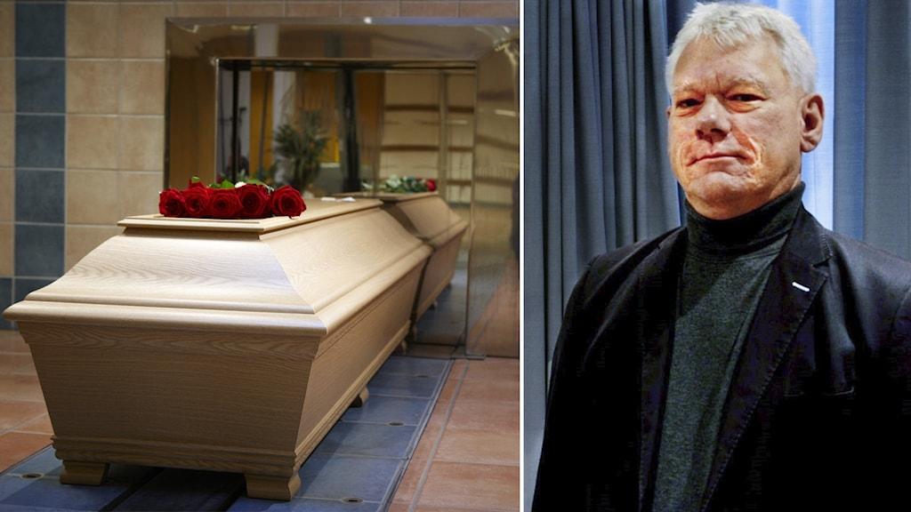 Kalle Hansson är kyrkogårdschef i Nyköpings församling.