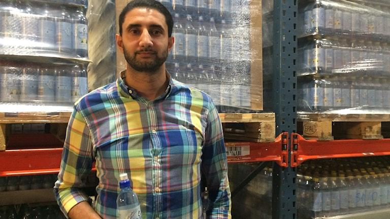 Ahmad Eid är småföretagare i Nyköping