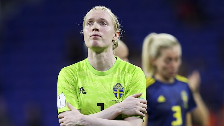 Landslagsmålvakten Hedvig Lindahl från Vingåker dödshotades under VM.