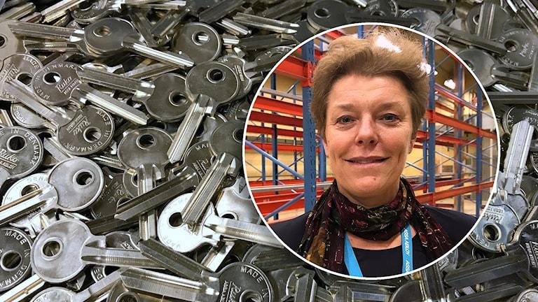 Marie Samuelsson, chef för Assa Abloy Opening Solutions Scandinavia