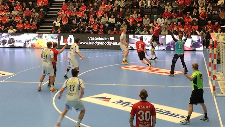 Eskilstuna Guif förlorade mot Redbergslid.