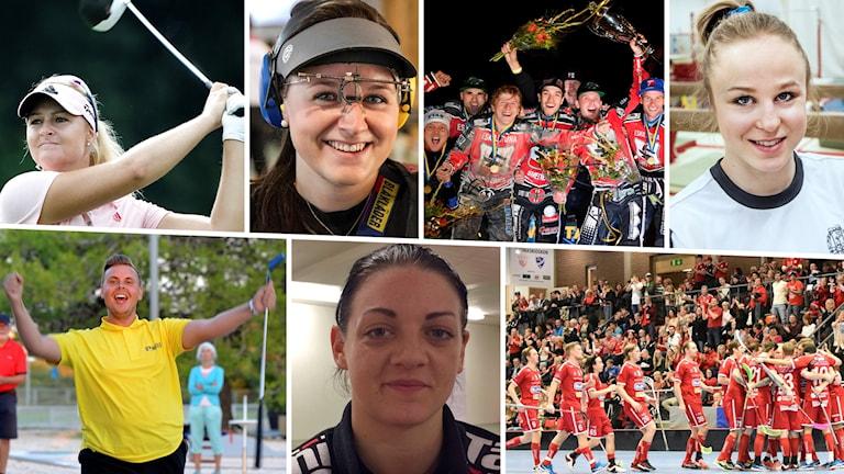Nominerade till P4 Sörmlands sportpris 2017.