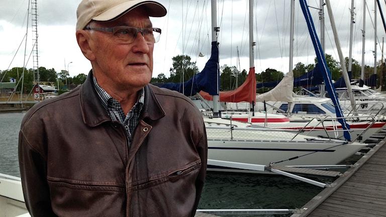 Leif Berg är ordförande för Oxelösunds Motorbåtsklubb.