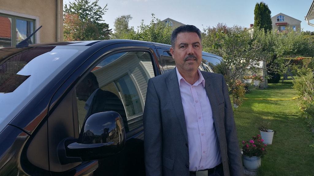 Sherzad Ali Said taxichafför