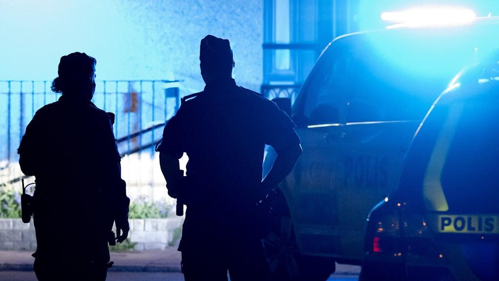 Polisregion Öst tog hjälp av polisregion Nord i samband med gripnadet.