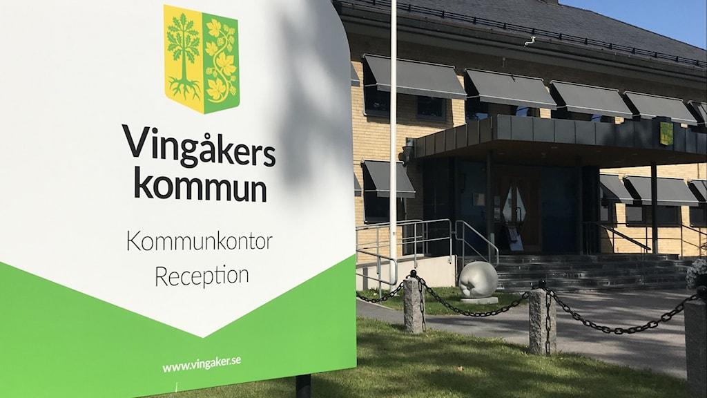kommunhuset i Vingåker.