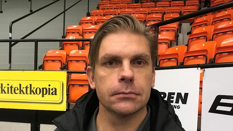 Torbjörn Johansson tränare i Nyköping Gripen Hockey