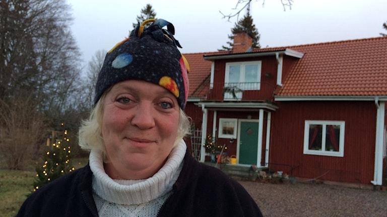 Johanna Fornander. Foto: Linnéa Wannefors/Sveriges Radio.