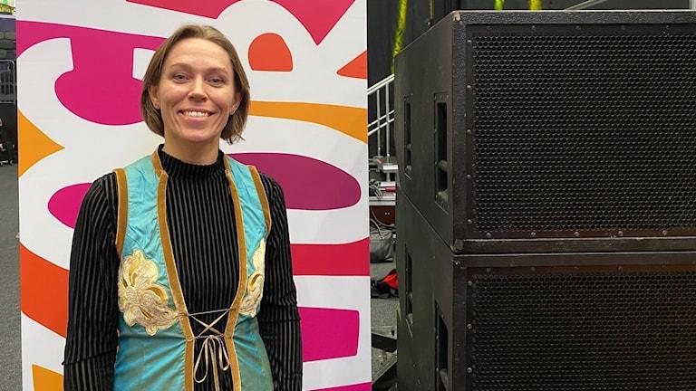 Linda Kowalski Nordfors på Folk och kultur i Eskilstuna 2020.