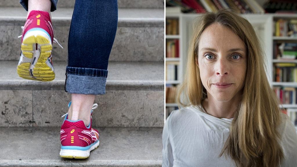 författaren och krönikören Jenny Åkervall,