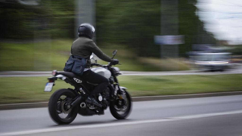 Motorcykel. Foto: Naina Helén Jåma/TT.