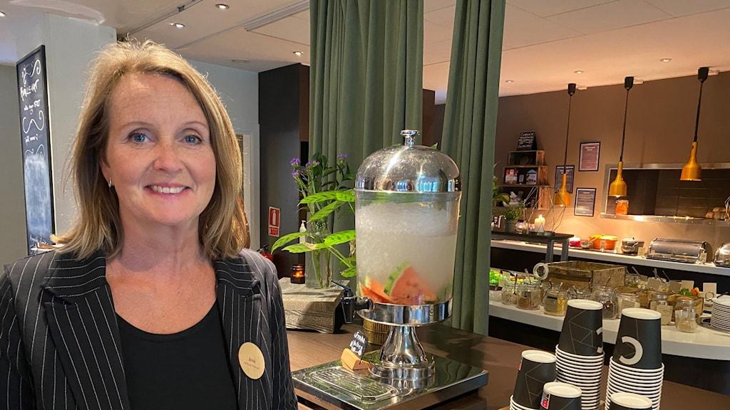 Åsa Björkman, hotelldirektör Clarion collection hotel kompaniet i Nyköping.