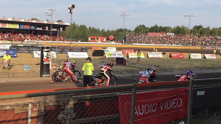 Speedway i Eskilstuna.