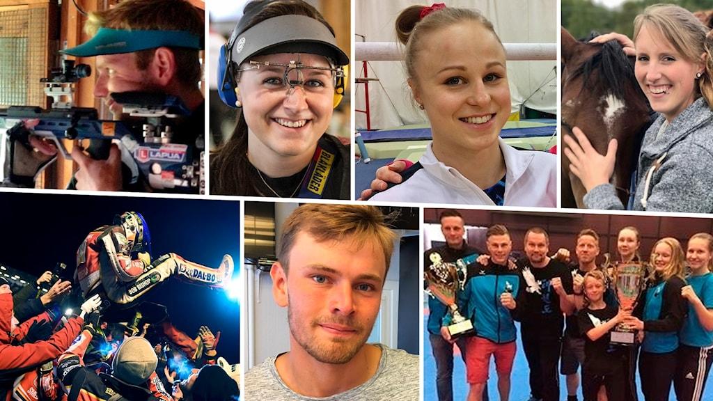 De nominerade till P4 Sörmlands sportpris 2018.