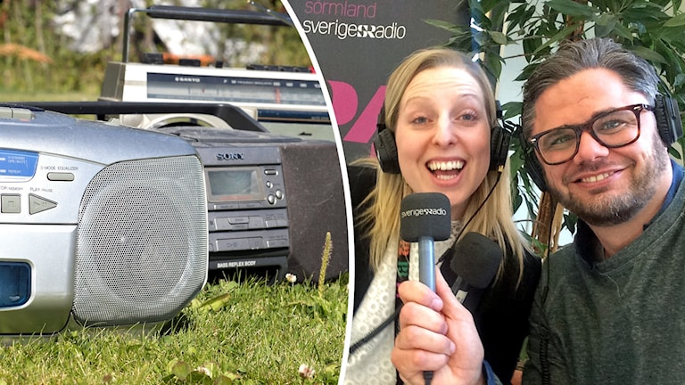 Radioapparater, Evelina Crabb, Svante Ekberg.