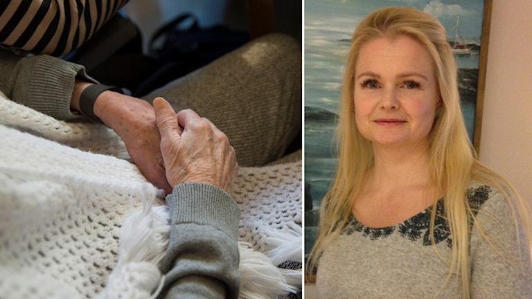 Jenny Stavem, specialistsjuksköterska inom demensvård i Strängnäs har gjort studien.
