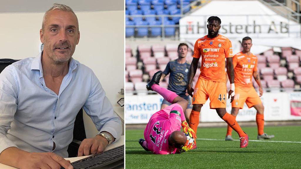 Mikael Larsson VD AFC Eskilstuna.