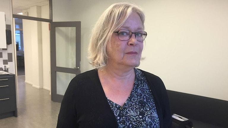 Marie Stenbäck, vice ordförande i Vårdförbundet avd. Sörmland