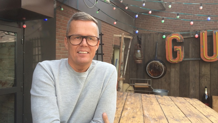 Mats Andersson, krögare i Eskilstuna. Foto: Katarina Wahlström/Sveriges Radio.