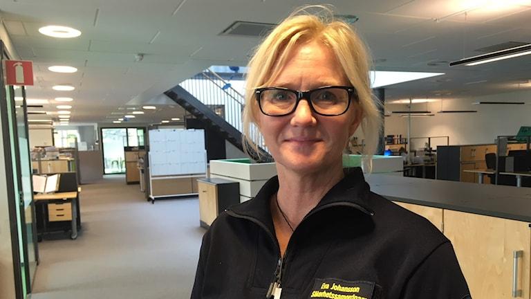 Eva Johansson, säkerhetssamordnare