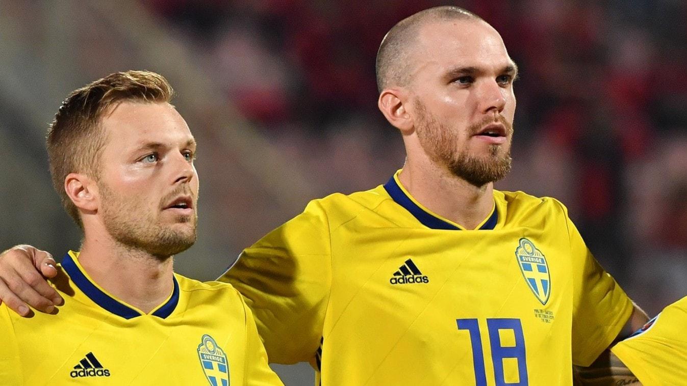 Larsson och Danielson uttagna till EM i fotboll
