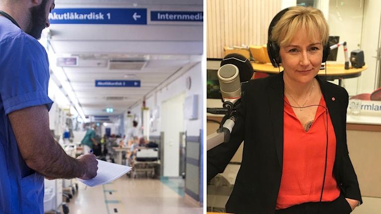 Helene Hellmark Knutsson (S), Minister för högre utbildning och forskning.