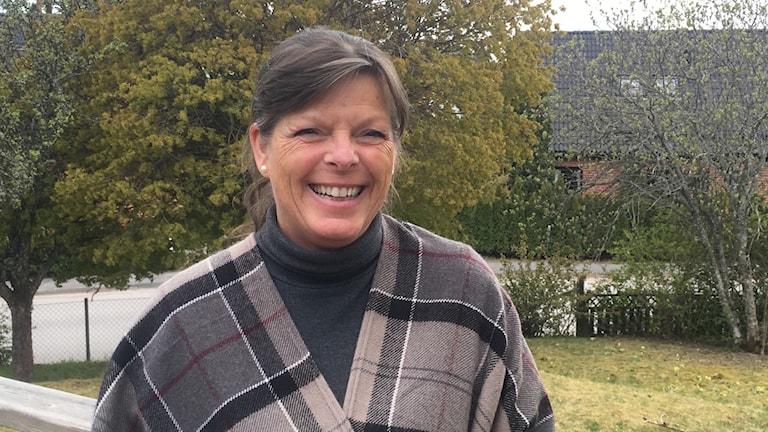 Helena Koch, nyvald förbundsordförande i Moderaterna i Sörmland.  Foto: Privat.