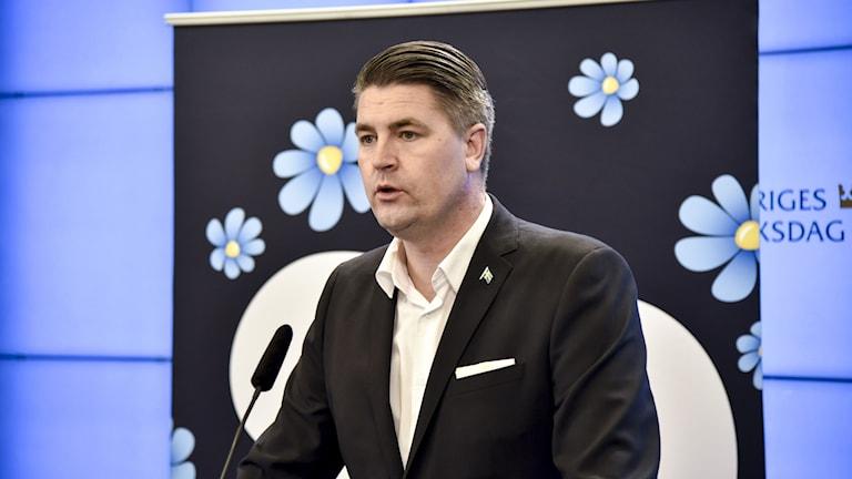 Oscar Sjöstetdt, Sverigedemokraterna.