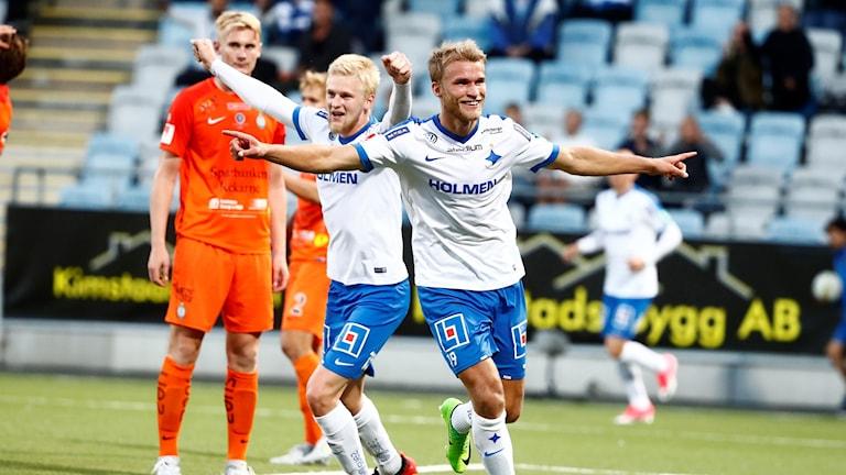 Spelare i AFC eskilstuna och Norrköping