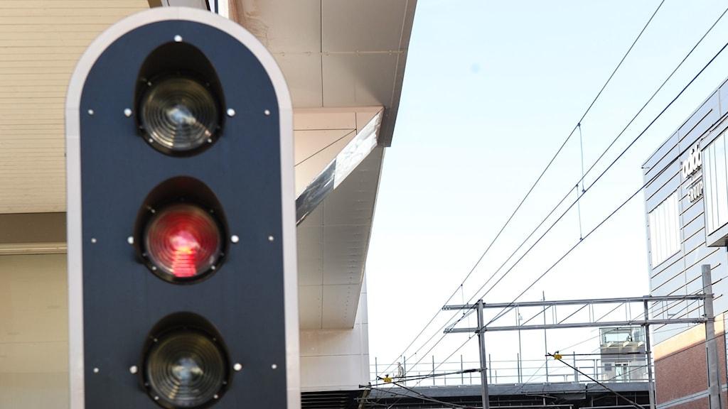 Stoppljus för tåg